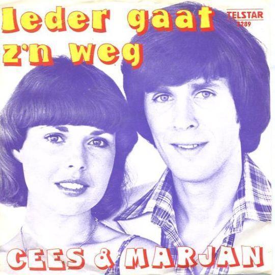 Coverafbeelding Ieder Gaat Z'n Weg - Cees & Marjan