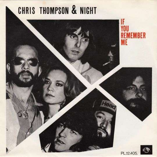 Coverafbeelding If You Remember Me - Chris Thompson & Night