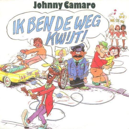 Coverafbeelding Johnny Camaro - Ik Ben De Weg Kwijt!