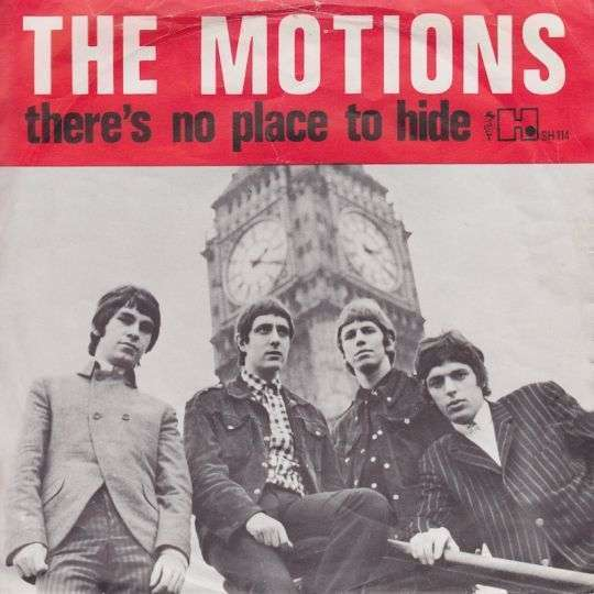Coverafbeelding There's No Place To Hide/ Everything (That's Mine) - The Motions