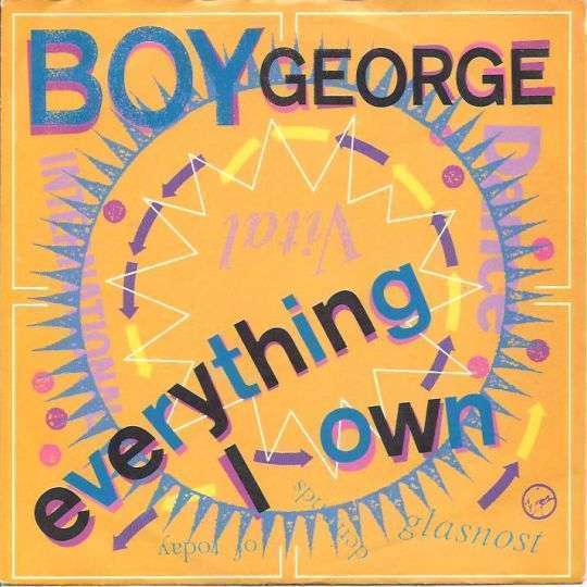 Coverafbeelding Everything I Own - Boy George