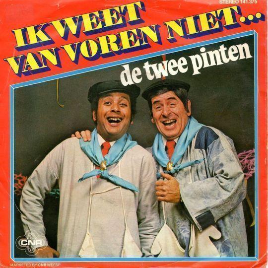 Coverafbeelding De Twee Pinten - Ik Weet Van Voren Niet...