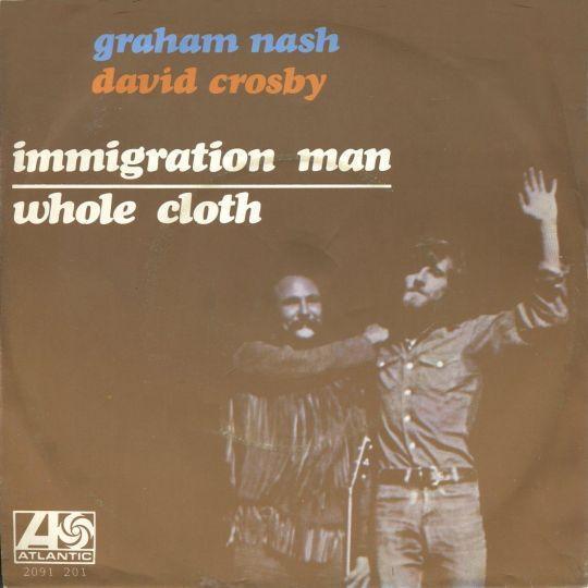 Coverafbeelding Immigration Man - Graham Nash & David Crosby