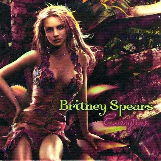 Coverafbeelding Britney Spears - Everytime