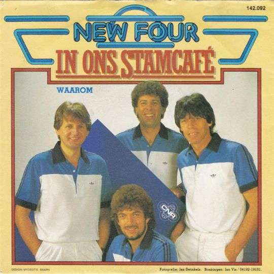 Coverafbeelding In Ons Stamcafé - New Four