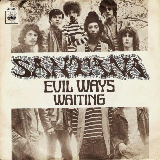 Coverafbeelding Evil Ways - Santana