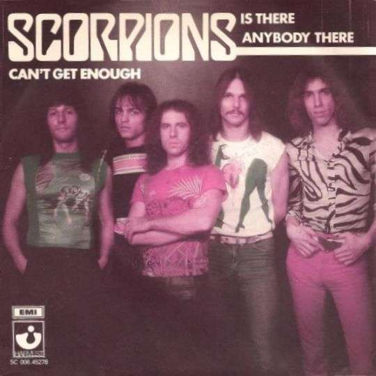 Coverafbeelding Is There Anybody There - Scorpions ((Deu))