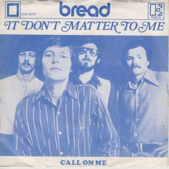 Coverafbeelding It Don't Matter To Me - Bread