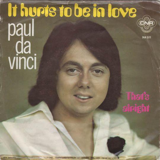 Coverafbeelding It Hurts To Be In Love - Paul Da Vinci