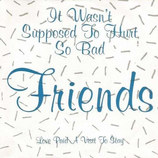 Coverafbeelding Friends - It Wasn't Supposed To Hurt So Bad