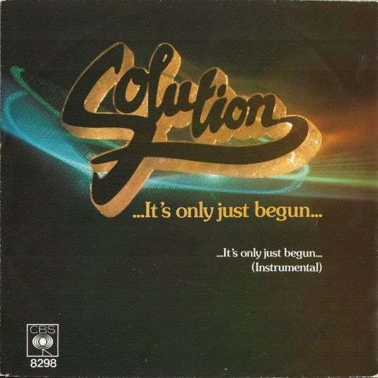 Coverafbeelding ...it's Only Just Begun... - Solution