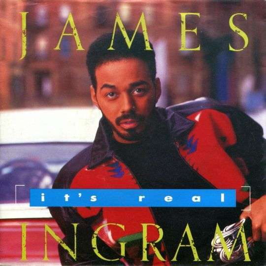 Coverafbeelding It's Real - James Ingram