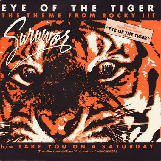 Coverafbeelding Eye Of The Tiger - The Theme From Rocky Iii - Survivor