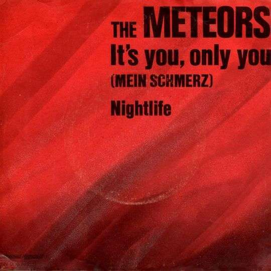 Coverafbeelding The Meteors - It's You, Only You (Mein Schmerz)