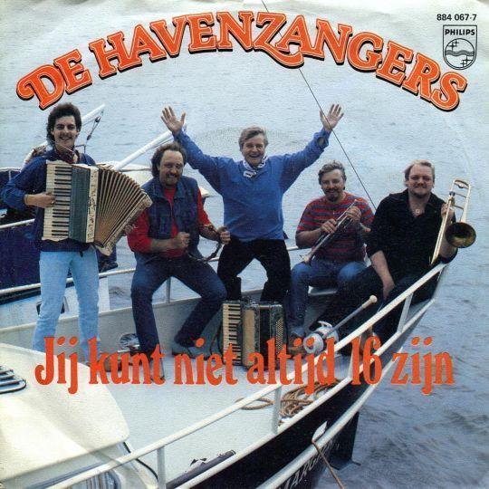 Coverafbeelding De Havenzangers - Jij Kunt Niet Altijd 16 Zijn