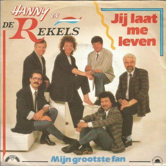 Coverafbeelding Jij Laat Me Leven - Hanny En De Rekels