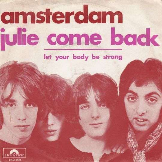 Coverafbeelding Amsterdam - Julie Come Back