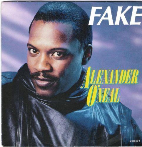 Coverafbeelding Fake - Alexander O'neal