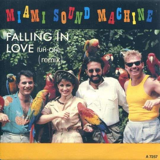 Coverafbeelding Falling In Love (Uh-Oh) - Miami Sound Machine
