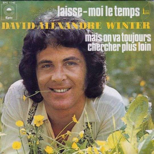 Coverafbeelding David-Alexandre Winter - Laisse-Moi Le Temps