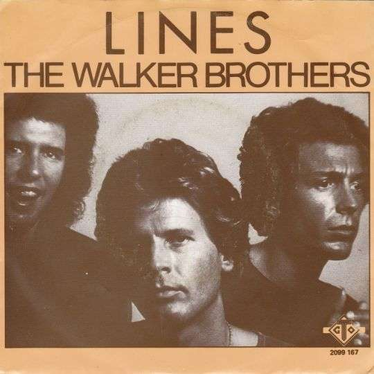 Coverafbeelding Lines - The Walker Brothers