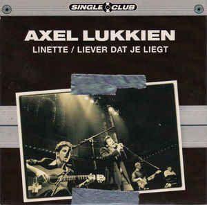 Coverafbeelding Axel Lukkien - Linette