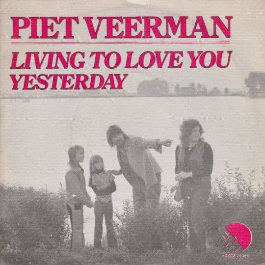 Coverafbeelding Living To Love You - Piet Veerman