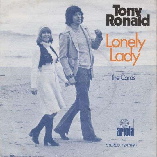 Coverafbeelding Lonely Lady - Tony Ronald