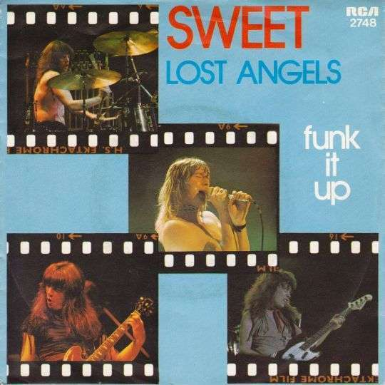 Coverafbeelding Lost Angels - Sweet