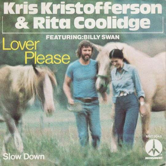 Coverafbeelding Lover Please - Kris Kristofferson & Rita Coolidge Featuring: Billy Swan
