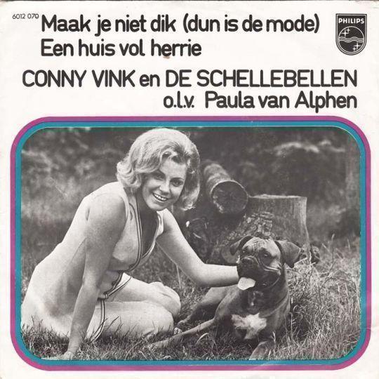 Coverafbeelding Maak Je Niet Dik (Dun Is De Mode) - Conny Vink En De Schellebellen O.l.v. Paula Van Alphen