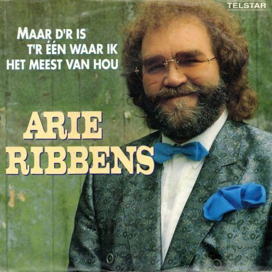 Coverafbeelding Maar D'r Is T'r �n Waar Ik Het Meest Van Hou - Arie Ribbens