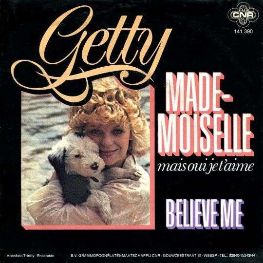 Coverafbeelding Mademoiselle - Mais Oui Je T'aime - Getty