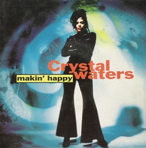 Coverafbeelding Makin' Happy - Crystal Waters