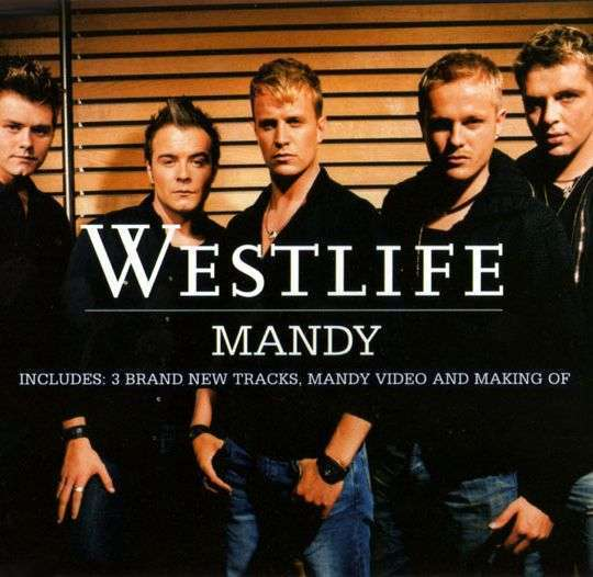 Coverafbeelding Mandy - Westlife