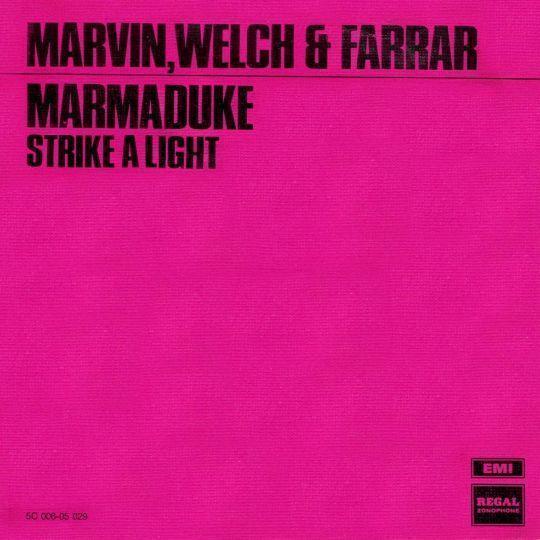 Coverafbeelding Marvin, Welch & Farrar - Marmaduke