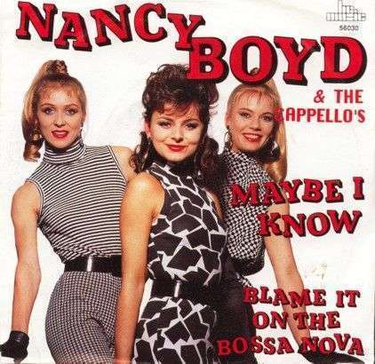 Coverafbeelding Maybe I Know - Nancy Boyd & The Cappello's
