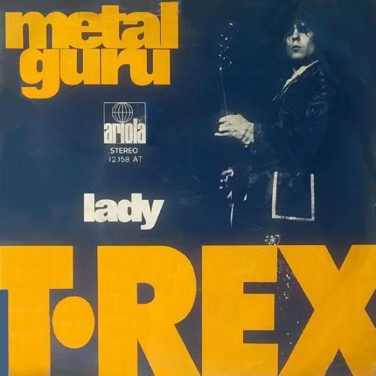 Coverafbeelding Metal Guru - T.rex