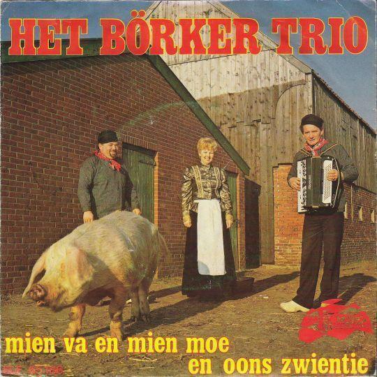 Coverafbeelding Het Börker Trio - Mien Va En Mien Moe En Oons Zwientie