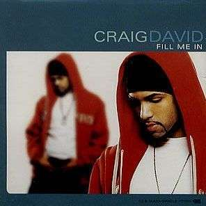 Coverafbeelding Fill Me In - Craig David