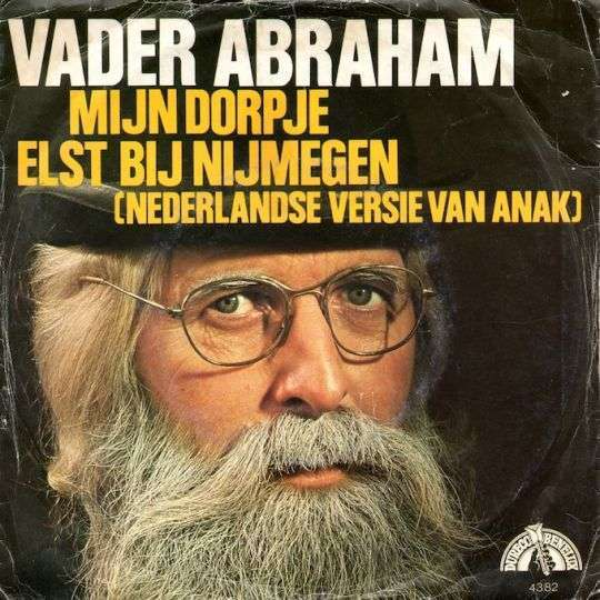 Coverafbeelding Mijn Dorpje Elst Bij Nijmegen - Vader Abraham