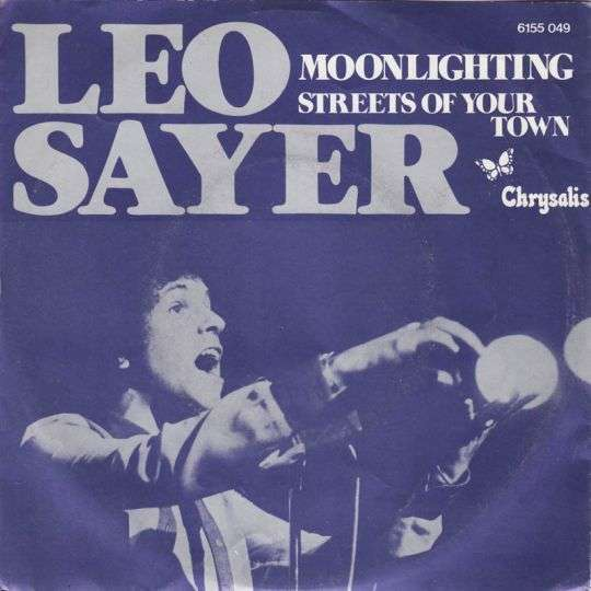 Coverafbeelding Leo Sayer - Moonlighting