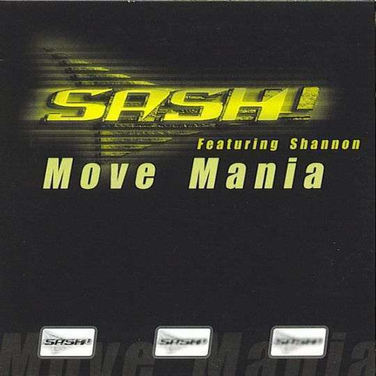 Coverafbeelding Move Mania - Sash! Featuring Shannon