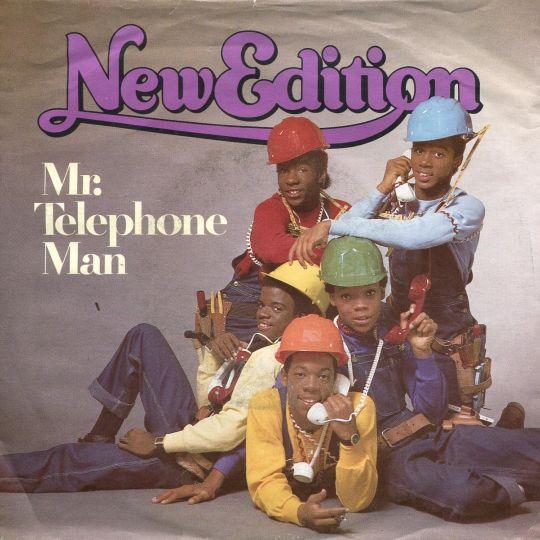 Coverafbeelding Mr. Telephone Man - New Edition