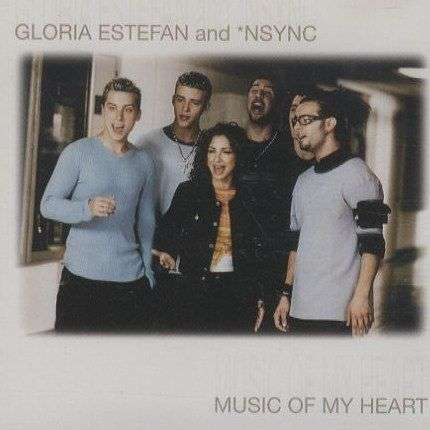 Coverafbeelding Music Of My Heart - *nsync & Gloria Estefan