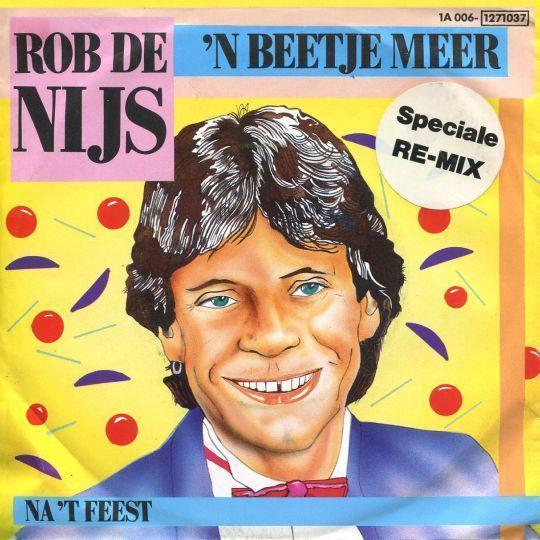 Coverafbeelding 'n Beetje Meer - Rob De Nijs