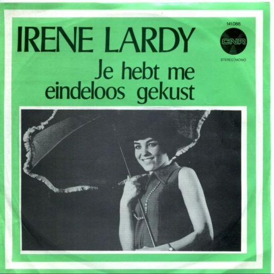 Coverafbeelding Irene Lardy - Je hebt me eindeloos gekust