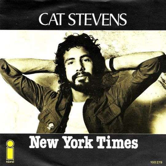 Coverafbeelding New York Times - Cat Stevens