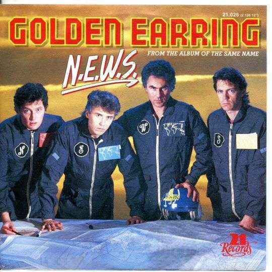 Coverafbeelding N.e.w.s. - Golden Earring