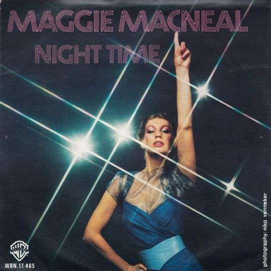 Coverafbeelding Night Time - Maggie Macneal